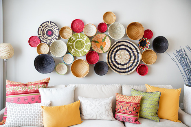 ... Wall Decorating Ideas (4) ...