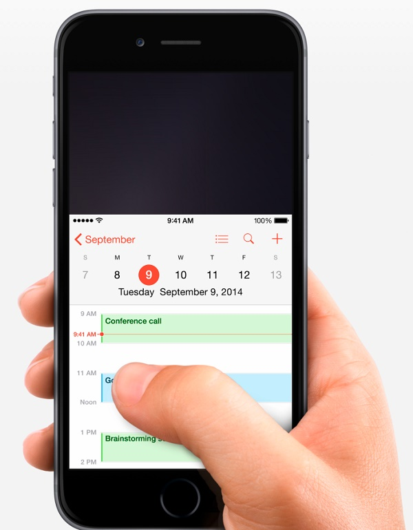 1.  Reachability Gesture – A Solution For Large Screens