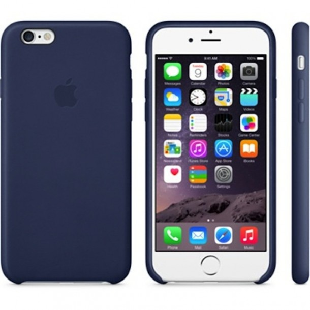 10. Apple's iPhone 6 Leather Case