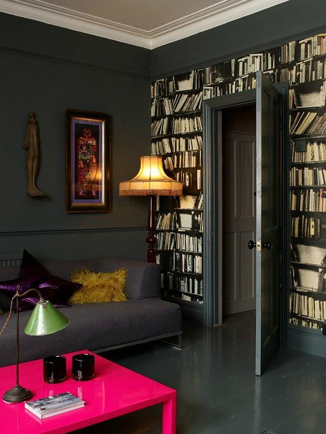 25 ideas of decorating wih books (01)
