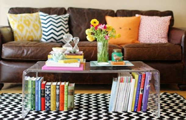 25 ideas of decorating wih books (15)