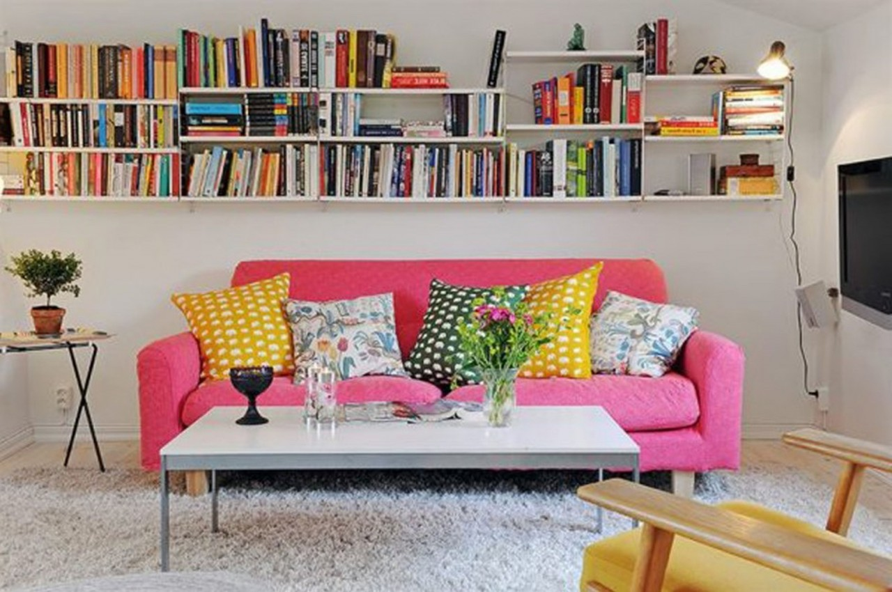 25 cool ideas to decorate your room with books Ideas to decorate your room