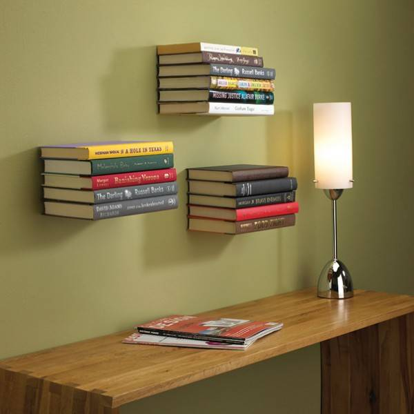 25 ideas of decorating wih books (20)