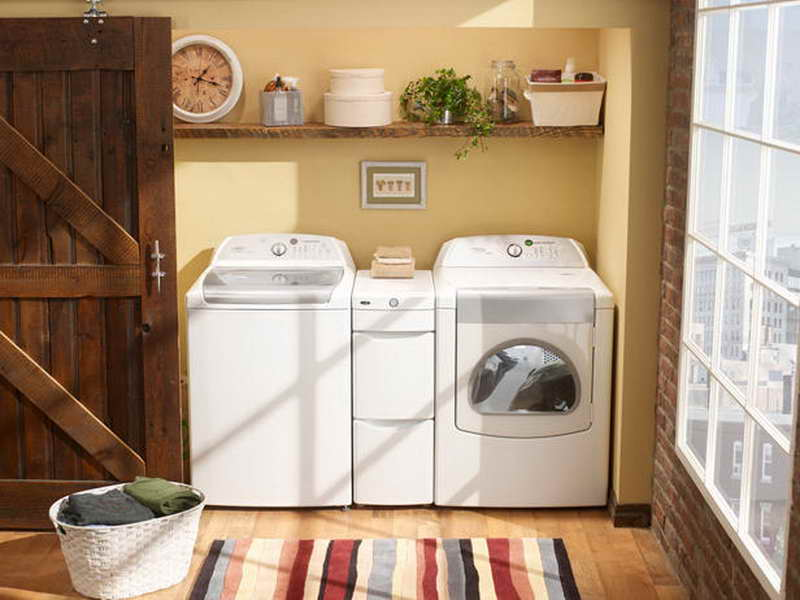 25 brilliantly clever laundry room design ideas Best colors for small spaces