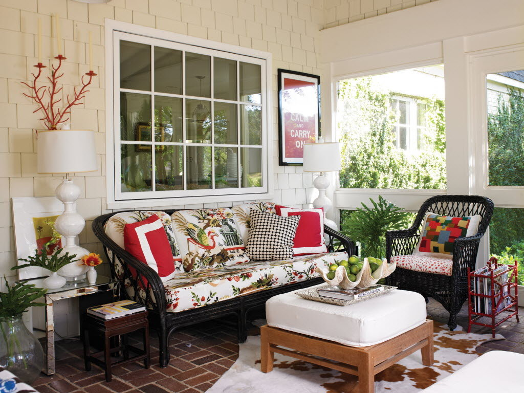 25 inspiring porch design ideas for your home for Front room interior design
