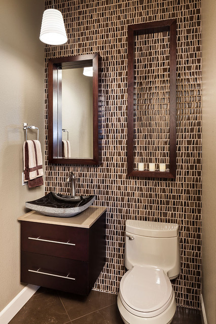 below are 25 pictures of powder room designing ideas from