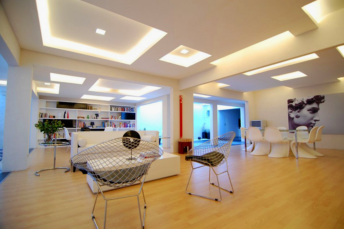 25 stunning ceiling designs for your home for Deco de interiores