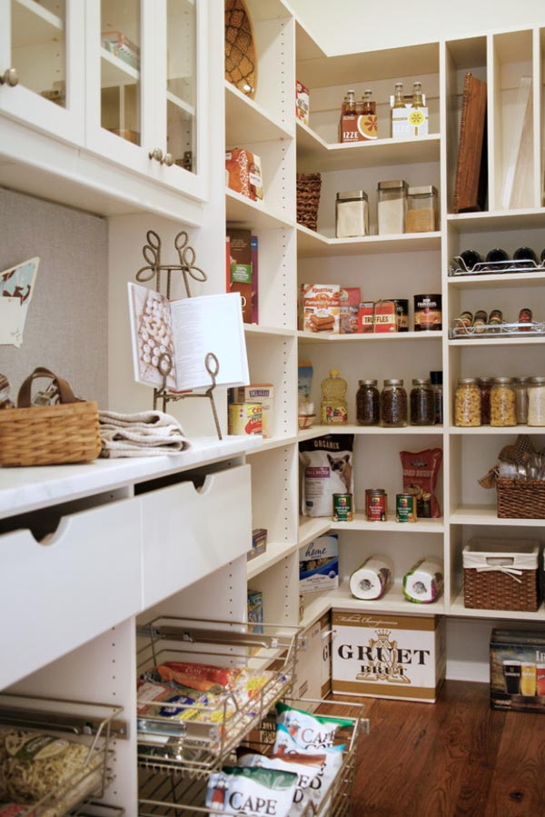 25 great pantry design ideas for your home for Kitchen pantry ideas
