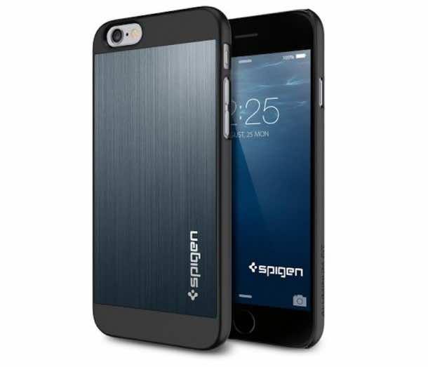 3. Spigen iPhone 6 Case Aluminum Fit