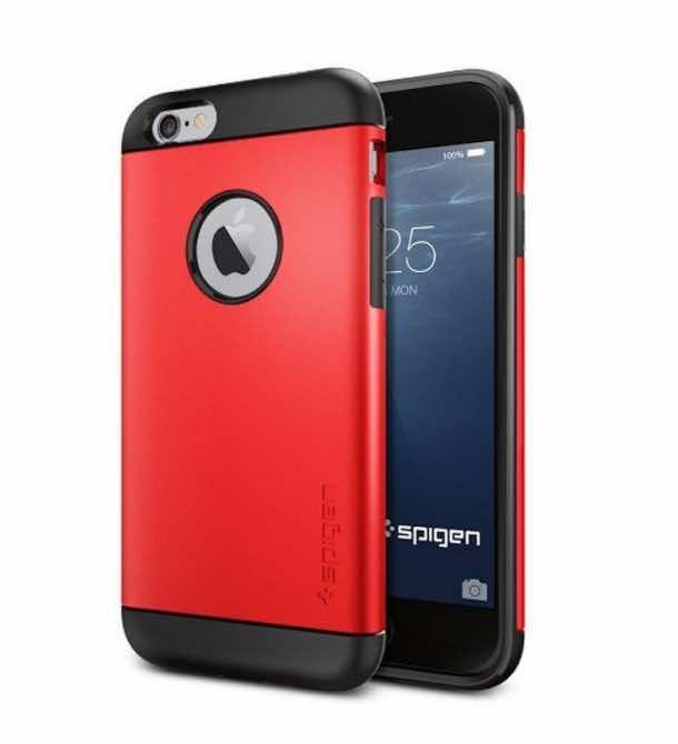 6. Spigen Slim Armor Case for the iPhone 6