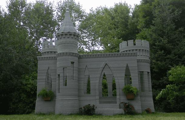 Andrey Rudenko 3D Printed Castle