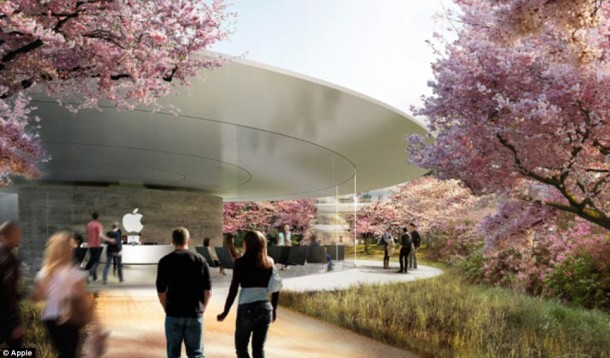 Apple Spaceship Campus 15