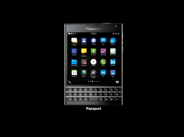 BlackBerry Passport Goes on Sale Today