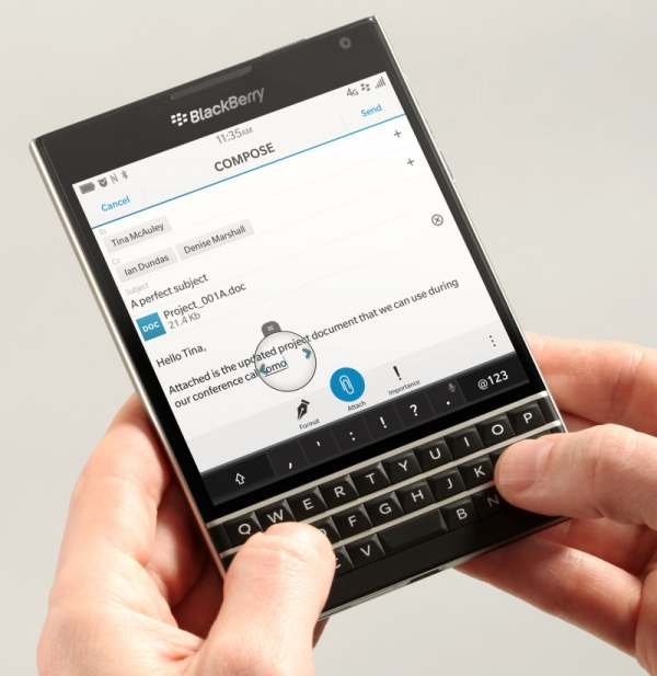 BlackBerry Passport Goes on Sale Today2