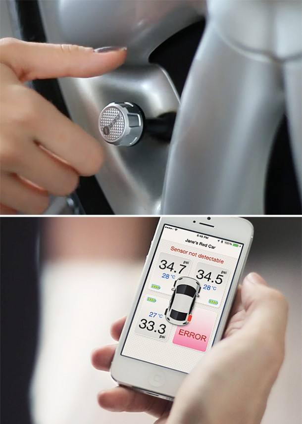 Bluetooth Tire Pressure Monitoring System by Fobo2