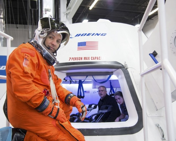 Boeing and Space X are NASA's Space Taxis