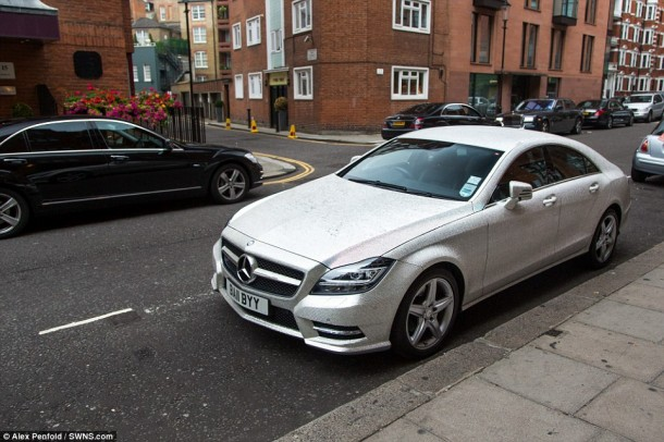 Crystal Covered Mercedes CLS 3502