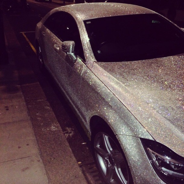 Crystal Covered Mercedes CLS 3503