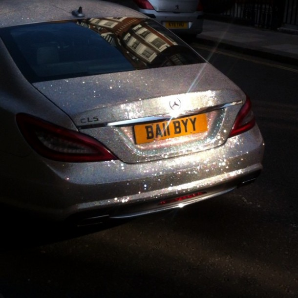 Crystal Covered Mercedes CLS 3504