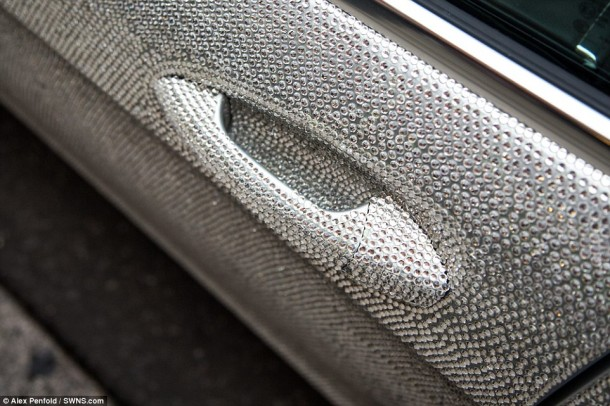 Crystal Covered Mercedes CLS 3508