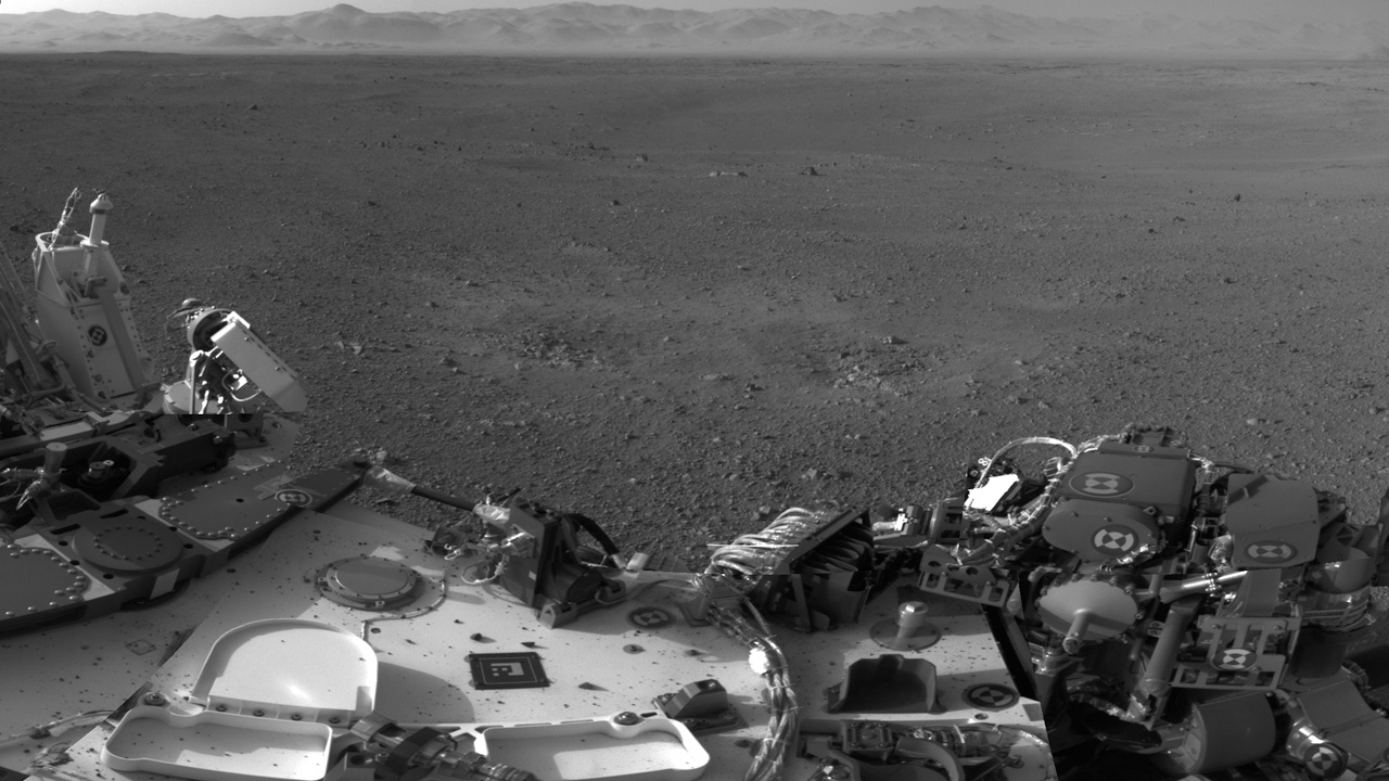Curiosity Rover Latest pictures