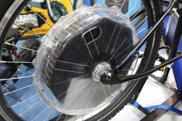 Daymak e-Bike Conversion Solar Kit3
