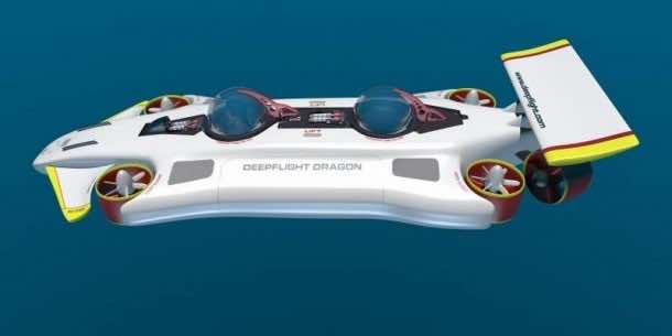 DeepFlight Dragon - Your Personal Submarine3