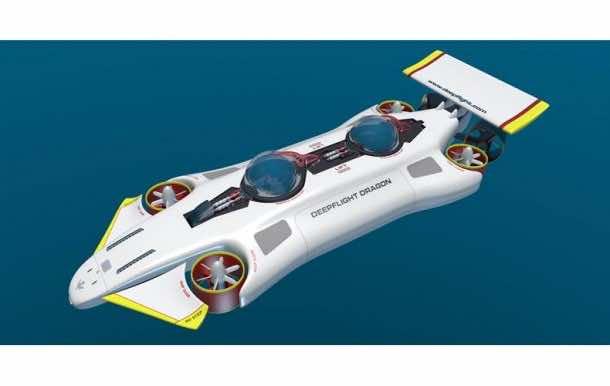 DeepFlight Dragon - Your Personal Submarine4