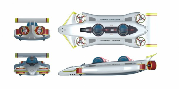 DeepFlight Dragon - Your Personal Submarine5