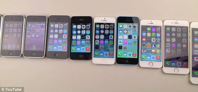 Drop Test – iPhone 2g to iPhone 6 Plus8