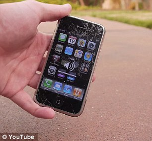 Drop Test – iPhone 2g to iPhone 6 Plus7