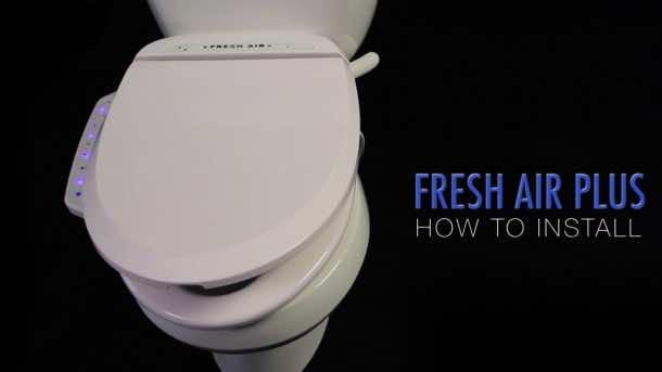 Fresh Air Plus Odor-Eliminating Toilet Seat.4