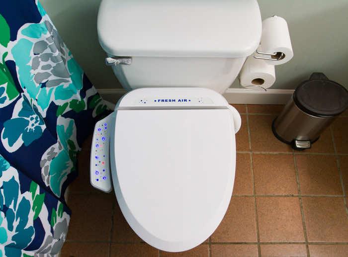 Fresh Air Plus Odor-Eliminating Toilet Seat