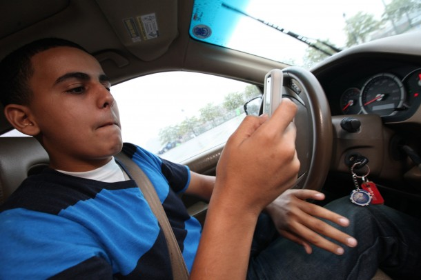 Distracted driver's ed