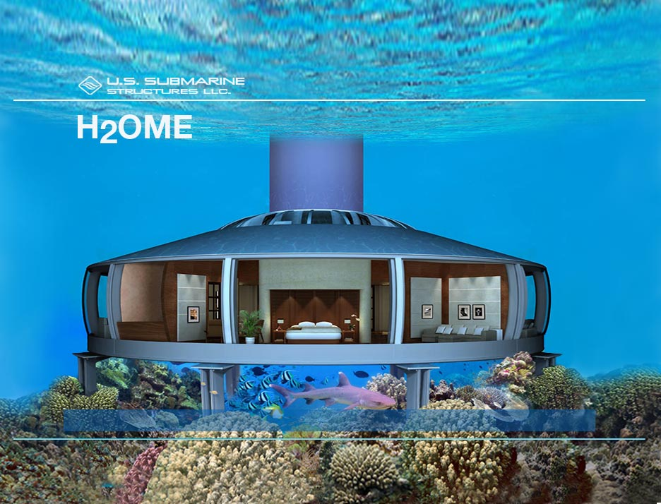 H2OME – Submerged House by US Submarine Structures
