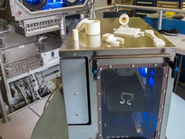 ISS Gets The First Zero Gravity 3D Printer3