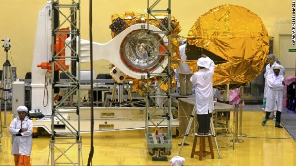 Indian Satellite reaches mars