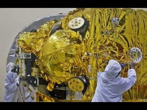 Indian Satellite reaches mars3