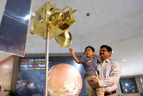 Indian Satellite reaches mars4
