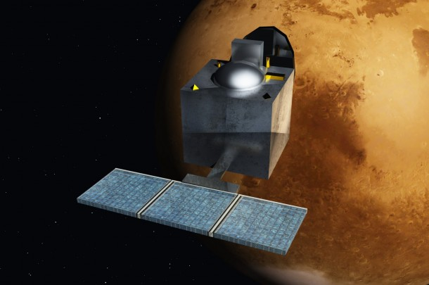 Indian Satellite reaches mars5