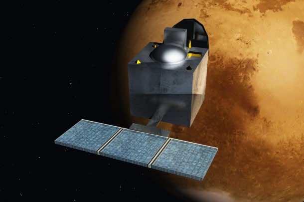 Indian Satellite reaches mars5