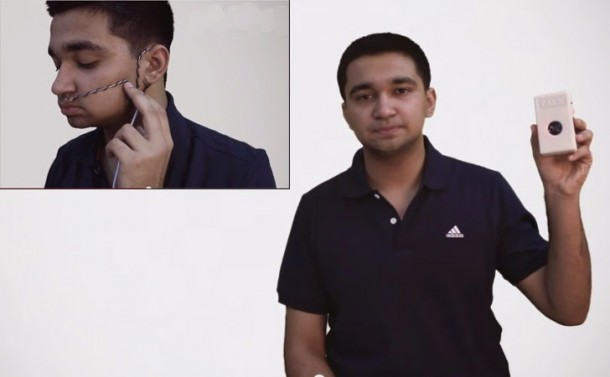 Indian Teenager Builds a Breath-to-Voice Device – TALK – Costs only $802