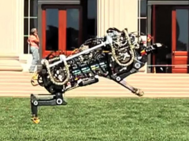 MIT's Robo-Cheetah is Silent and Fast5