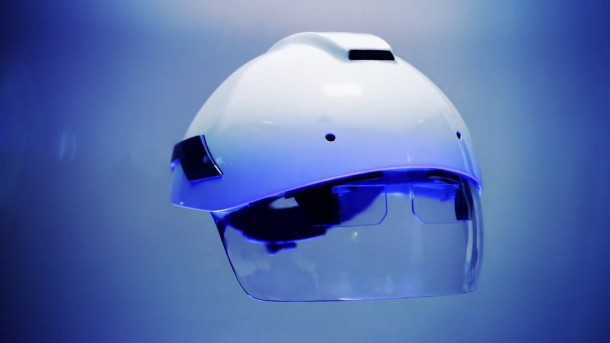 Make Use of AR at Work Place – Smart Helmet by DAQRI