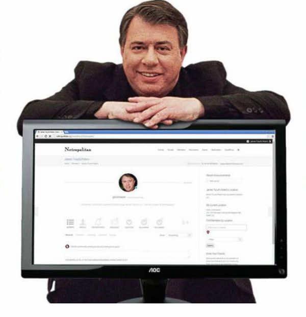 Netropolitan Social Website