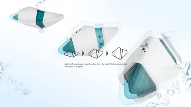 Pecera dofi Robotic Fish washing