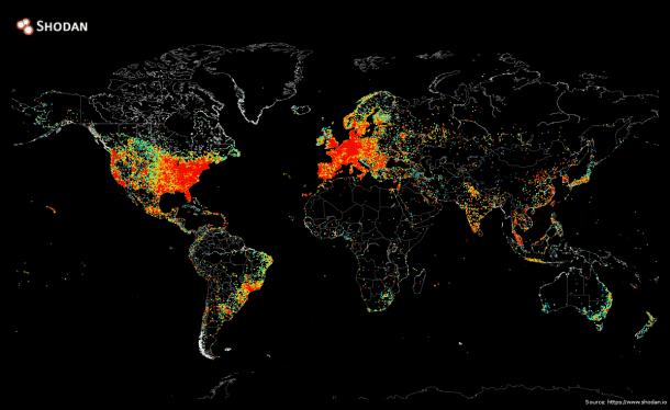 Ping Map by John Matherly4
