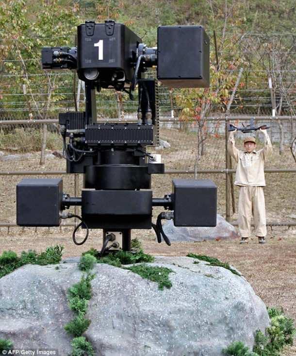 Samsung Built SGR-1 Sentry Robot