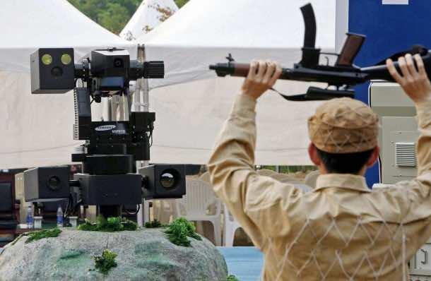 Samsung Built SGR-1 Sentry Robot4