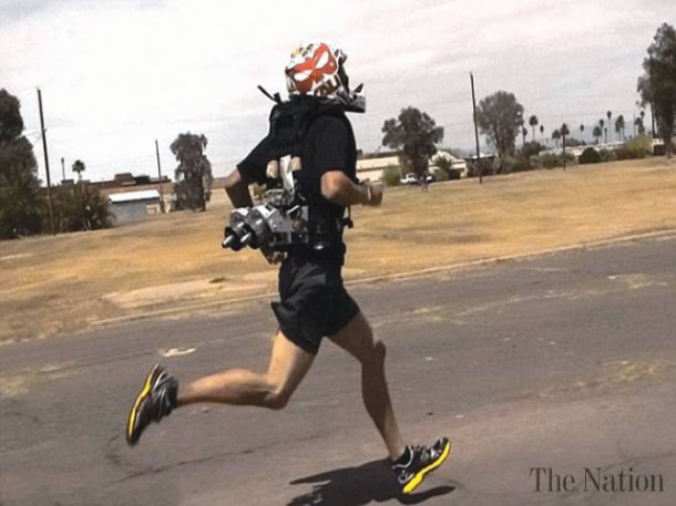 Scientists Testing Jetpack to Allow Soldiers to Run Faster